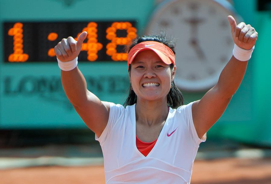 Roland-Garros: Li Na, première Chinoise victorieuse en Grand Chelem_9