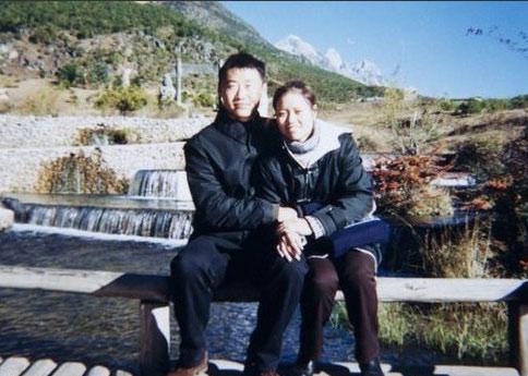 Li Na et son époux Jiang Shan.