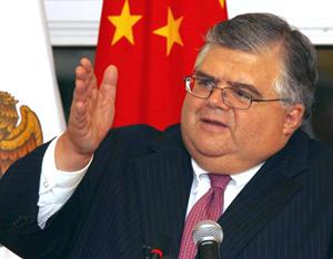 Le candidat mexicain au FMI s'efforce de courtiser la Chine