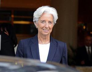La Française Christine Lagarde à la tête du FMI