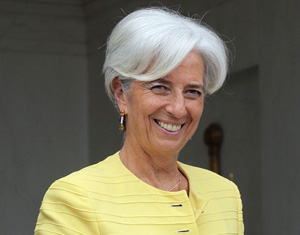 FMI : la Chine salue la nomination de Christine Lagarde