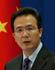 Hong Lei, porte-parole du ministère des Affaires étrangères