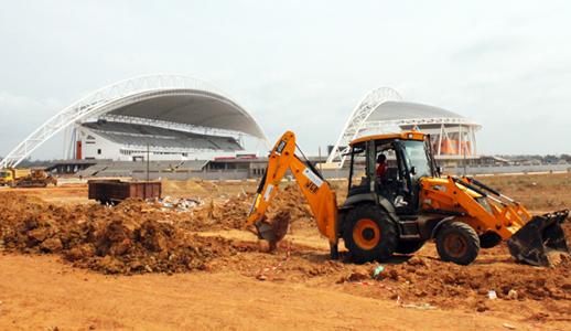 Le stade national du Gabon construit par SCG