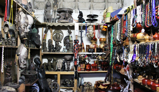 Marché de l'artisanat central de Douala