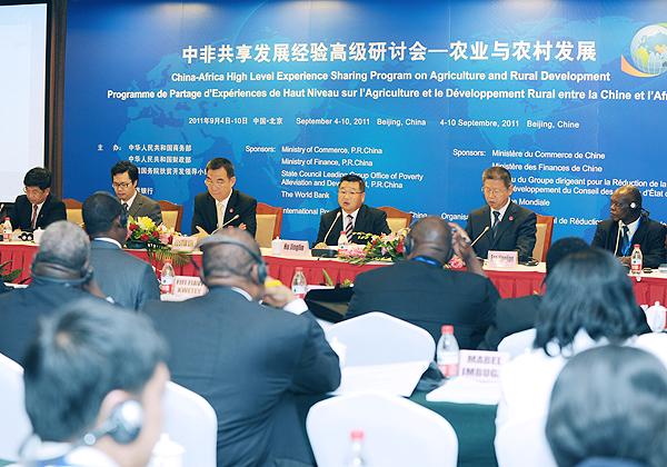 La Chine et l'Afrique abordent ensemble le développement rural