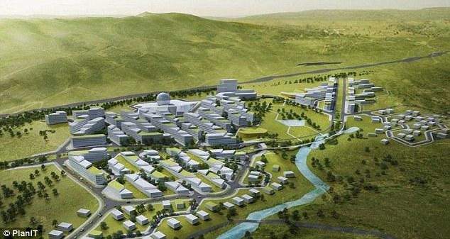 Assez PlanIT Valley, un projet de ville futuriste et écologique portugais ME03
