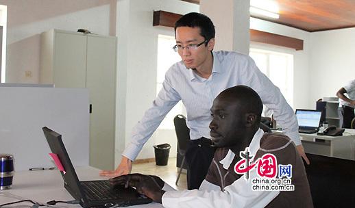 Huawei paie de retour la société camerounaise