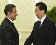 Nicolas Sarkozy s'est rendu en Chine en raison de la dette européenne