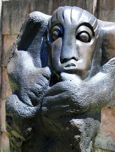 Parc de sculptures à Harare