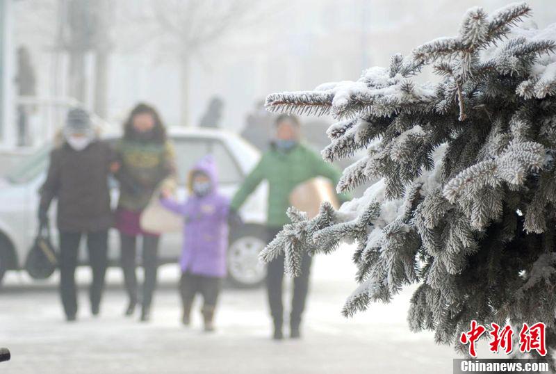 –46,9°C, le froid extrême frappe la Mongolie intérieure