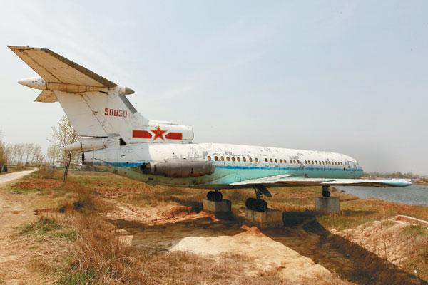 Le jet de Zhou Enlai attend sa place au musée