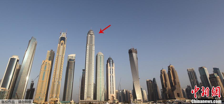 Duba la tour princess reconnue comme la plus haute for Habitations du monde