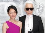 Zhou Xun et les « It girls » occidentales au défilé Chanel