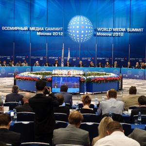Moscou abrite le sommet mondial des médias