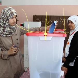 Libye-élections: le taux de participation atteint 60%