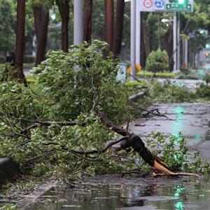 Le typhon Saola est arrivé à Taïwan