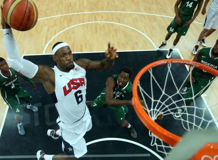 JO 2012/basket : 156 à 73, l'équipe USA crée plusieurs nouveaux records olympiques