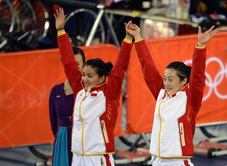 JO 2012/cyclisme : la Chine déclassée pour la médaille d'or de la vitesse dame par équipes