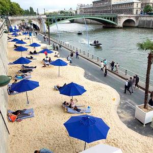 Paris Plages, c'est génial!