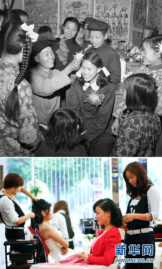 Qixi (Saint-Valentin chinoise) depuis les années 60 : l'amour qui défie le temps