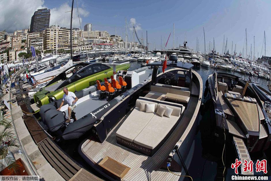 Monaco yacht show 2012 un festival splendide des plus - Salon du yacht monaco ...