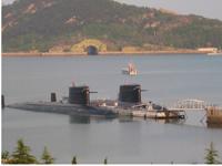 Révélation de la base de sous-marins nucléaires de la Chine