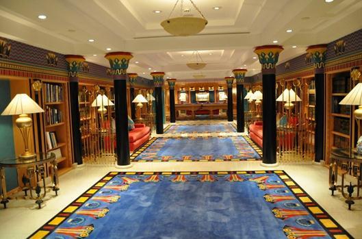 Gut bekannt Découvrir l'intérieur du Burj Al-Arab, hôtel 7 étoiles à Dubaï PB43