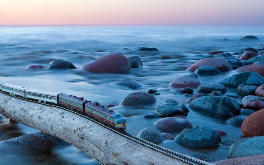 [美图] 带着火车去旅行 环游魅力加拿大(22P) - 路人@行者 - 路人@行者