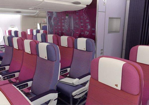 Découvrez l\'intérieur de l\'A380 : aisé et luxueux