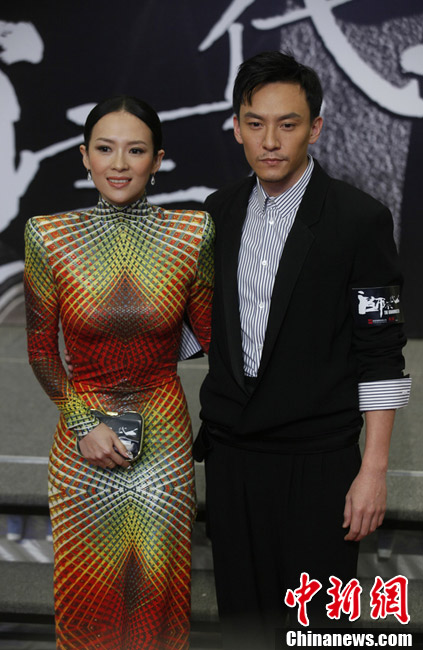 L'avant-première du film The Grandmaster à Hong Kong