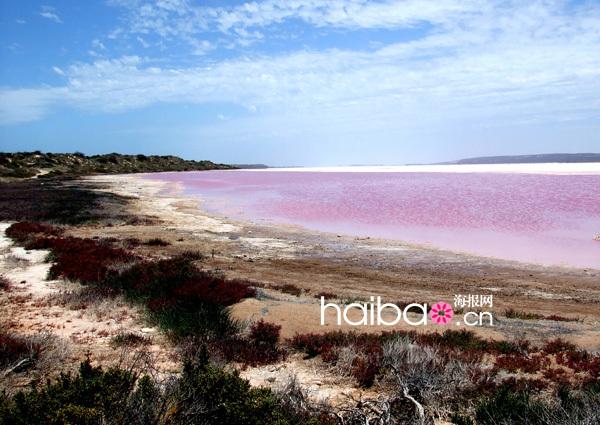 Le lac rose Hillier, un site incontournable en Australie