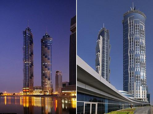 Duba marriott ouvre l 39 h tel le plus haut du monde - Les plus haut building du monde ...