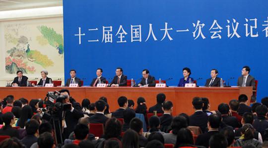 Conférence de presse du Premier ministre chinois Li Keqiang