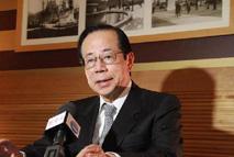 Fukuda Yasuo, ancien Premier ministre japonais et président du conseil d'administration du Forum asiatique de Bo'ao