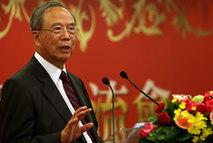 Zeng Peiyan, ancien vice-Premier ministre chinois et vice-président du conseil d'administration du Forum asiatique de Bo'ao