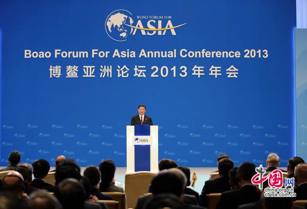 Ouverture du Forum asiatique de Bo'ao