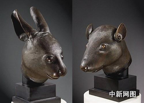 法国PPR集团董事长将向中国捐赠鼠首兔首