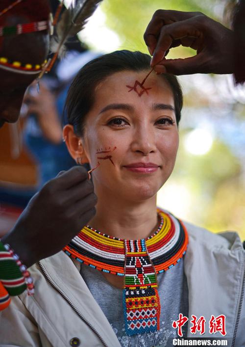 Li Bingbing appelle à lutter contre le trafic d'ivoire