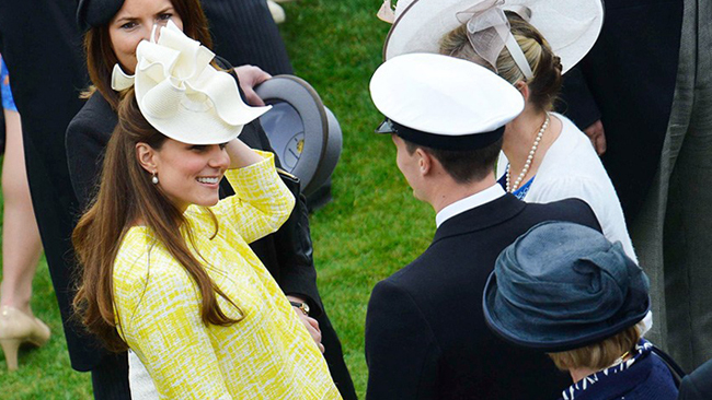 Kate Middleton à la Queen's Summer Garden Party