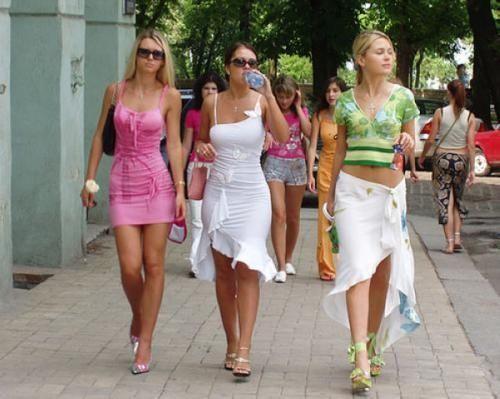 Les belles filles de l'ukraine
