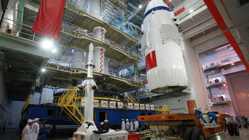 Shenzhou-10 est prêt à décoller