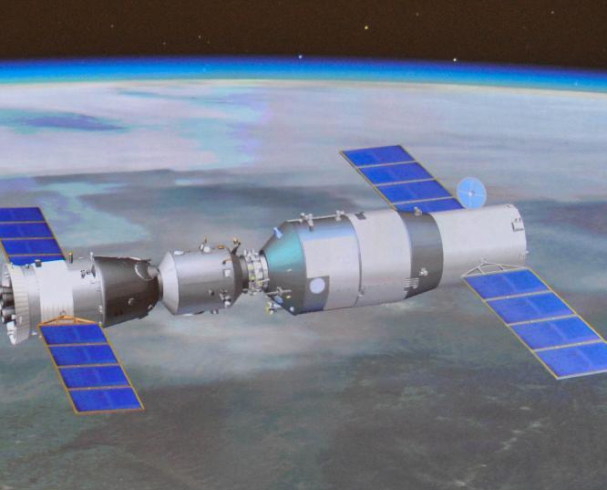 Amarrage réussi entre Shenzhou-10 et Tiangong-1