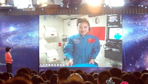 Les astronautes de Shenzhou-10 donnent un cours depuis l'espace