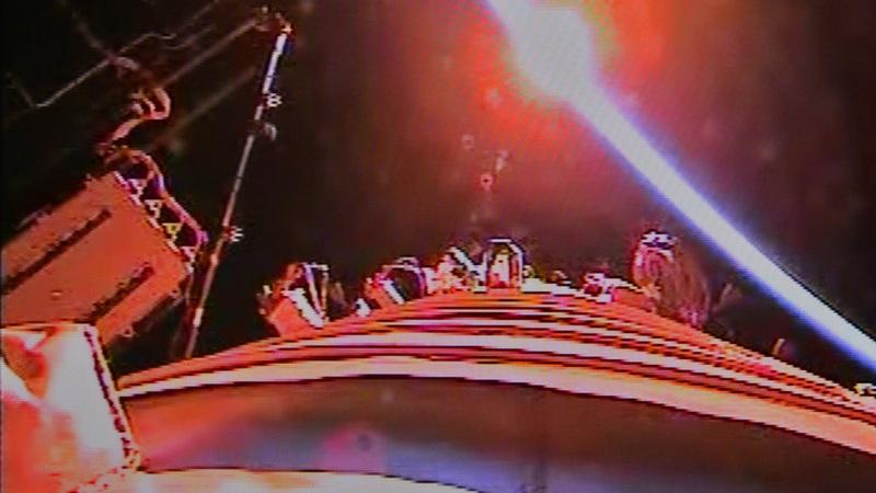 La lumière de l'espace vue depuis Tiangong-1 et Shenzhou-10