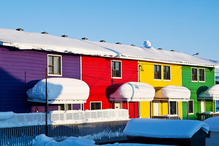 Les maisons les plus colorées du monde