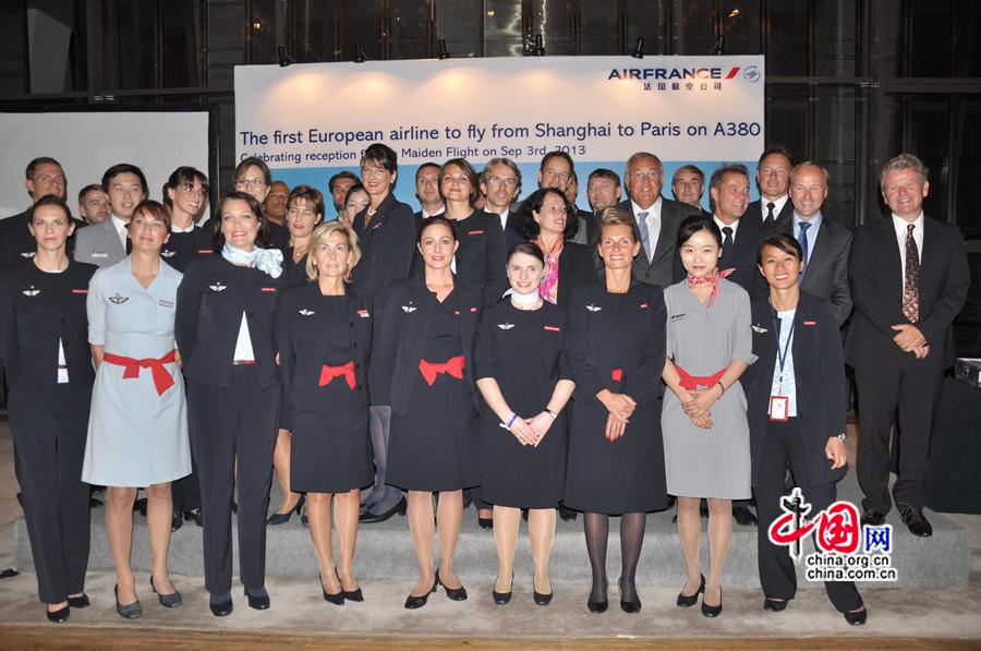 air france lance sa liaison paris shanghai en airbus a380. Black Bedroom Furniture Sets. Home Design Ideas
