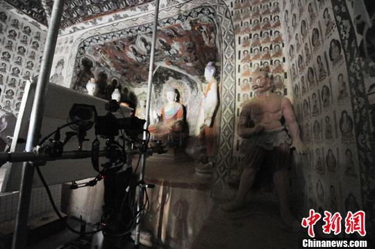 La restauration des fresques de Mogao à l'ère numérique