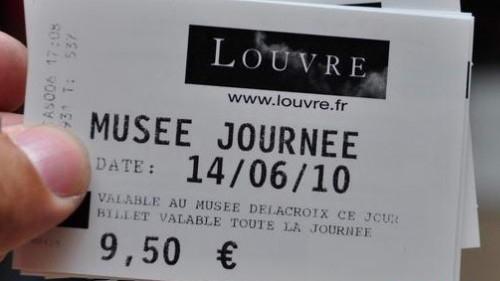 Faux tickets du Louvre : les touristes chinois sont les victimes