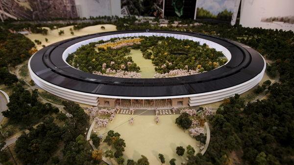 Apple un nouveau si ge en forme de soucoupe volante - Siege en forme de main ...