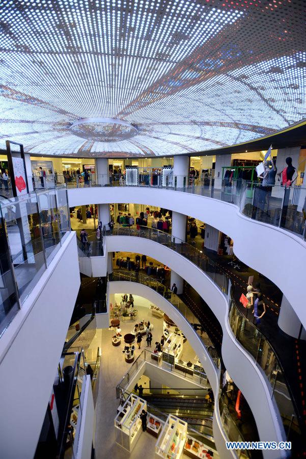 Les galeries lafayette ont ouvert les portes de leur - Centre commercial les portes de chevreuse ...